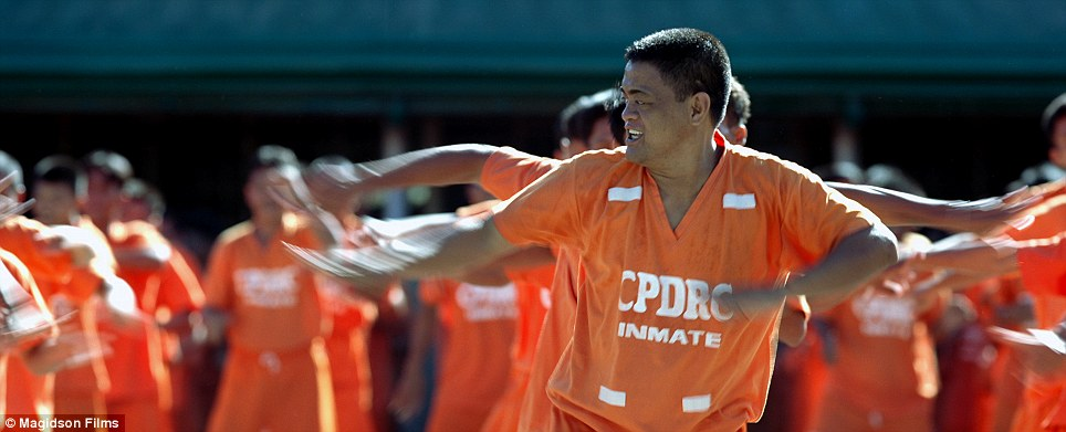 Thrilling: Inmates of the Cebu Prison in the Philippines, famous for their dance to Michael Jackson