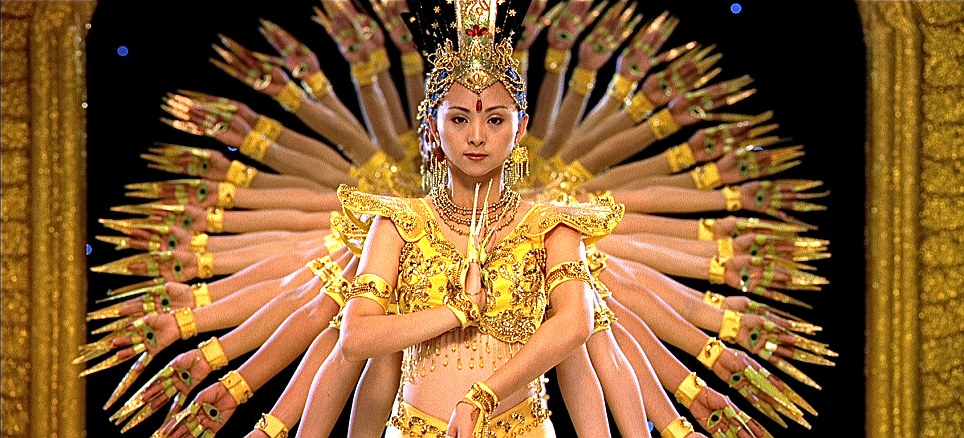 Need a hand? The 1000 Hands Dance, shot in Beijing, China, shows an incredibly elaborate ritual, one of many in Ron Fricke